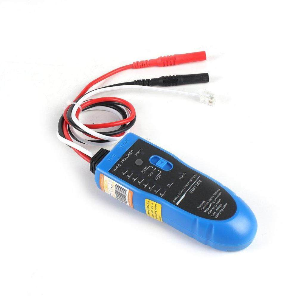 medium resolution of allwin nf 889 network cable checker wire sniffer tester rj45 rj11 cable tracker