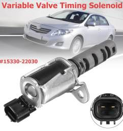 engine oil variable valve timing solenoid vvt for toyota corolla matrix celina intl [ 1200 x 1200 Pixel ]
