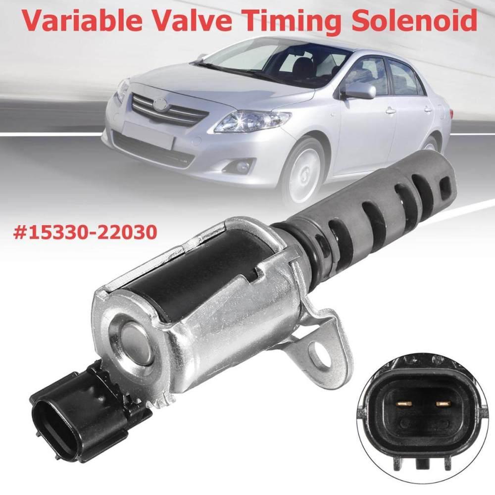 medium resolution of engine oil variable valve timing solenoid vvt for toyota corolla matrix celina intl