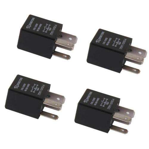 small resolution of miracle shining 4 pieces car automotive 12v 30 amp 4 pin spst relay for alarm horn