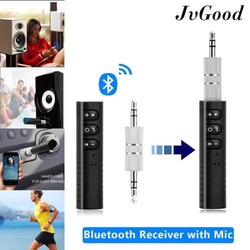 small resolution of jvgood bluetooth receiver 3 5mm aux bluetooth 4 1 receiver audio music car receiver wireless handsfree