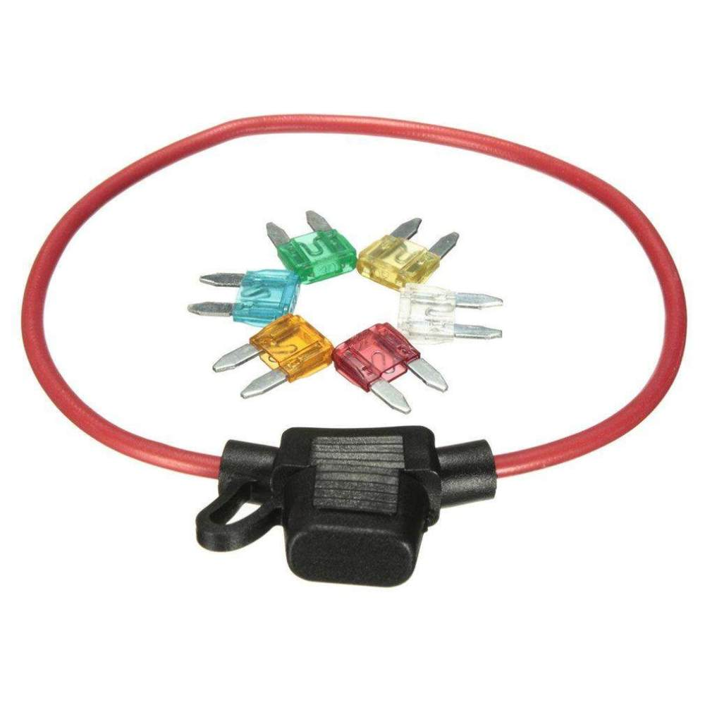 medium resolution of krc auto car 12v in line mini blade fuse holder with 5 10 15 20