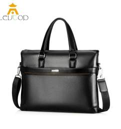 levtop men business bag briefcase pu leather shoulder bag laptop bag messenger sling bags [ 1500 x 1500 Pixel ]