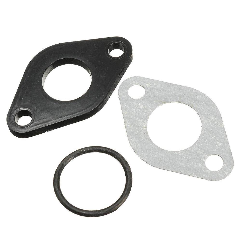 medium resolution of 28mm pit dirt bike plastic carburettor inlet manifold gasket 110cc 125cc 140cc intl