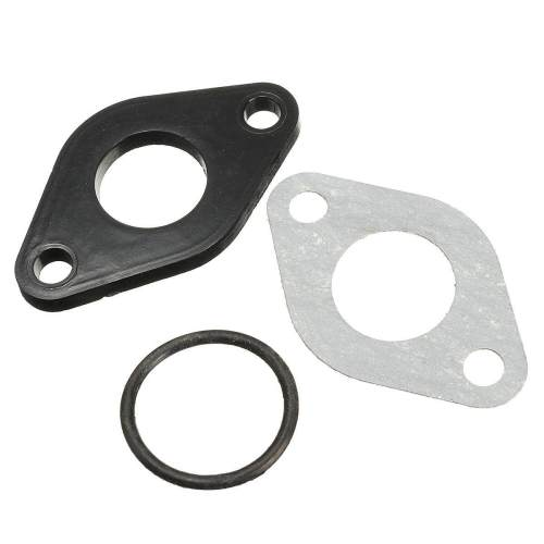 small resolution of 28mm pit dirt bike plastic carburettor inlet manifold gasket 110cc 125cc 140cc intl