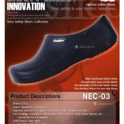 Kitchen Safe Shoes Sturdy Chairs Cross Stico Ultralight Eva Slip Resistance Clogs Nec03 Product Details Of Made In Korea 700gram Black