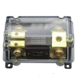 car audio digital led display fuse holder anl include 2 fuses distribution block 1 way in [ 1001 x 1001 Pixel ]
