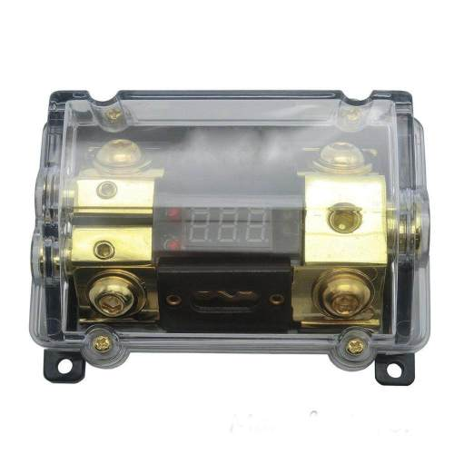 small resolution of car audio digital led display fuse holder anl include 2 fuses distribution block 1 way in