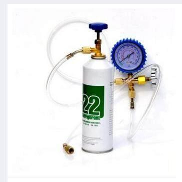 R22 Refrigeration Air Conditioning Manifold Gauge Freon HVAC Charging Tools - intl