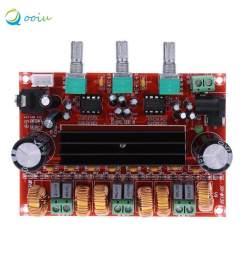 qooiu durable version high power amplifiers dual chip tpa3116d2 50wx2 100w 2 1 path digital subwoofer [ 1000 x 1000 Pixel ]