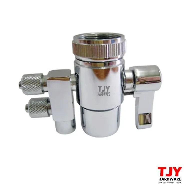 kitchen faucet adapter modern 2 way water filter dispenser tap connector freebie