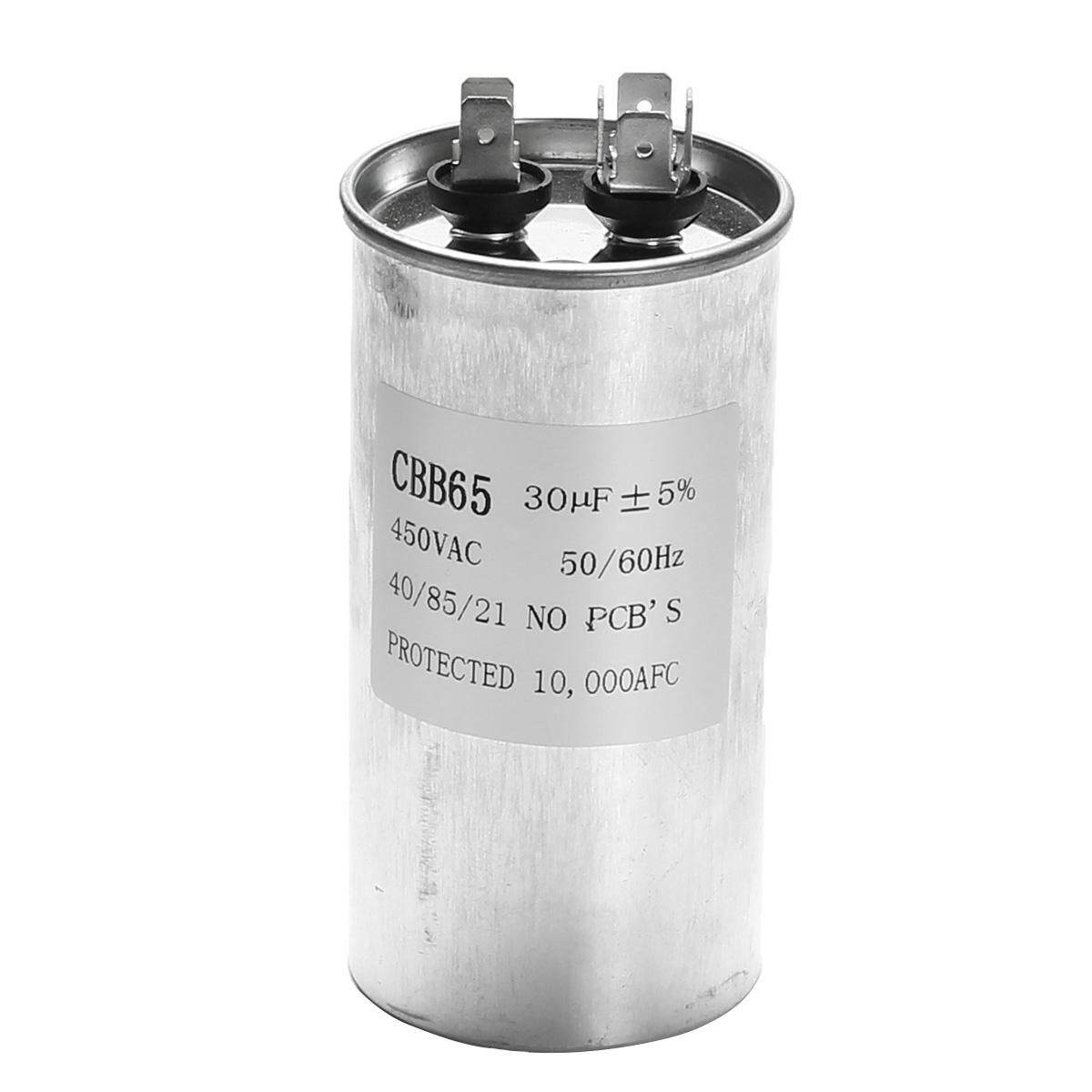 3 Pcs 30 UF CBB65 450 V AC 50/60Hz Motor Udara Conditioner Kompresor Start Capacitor-Intl