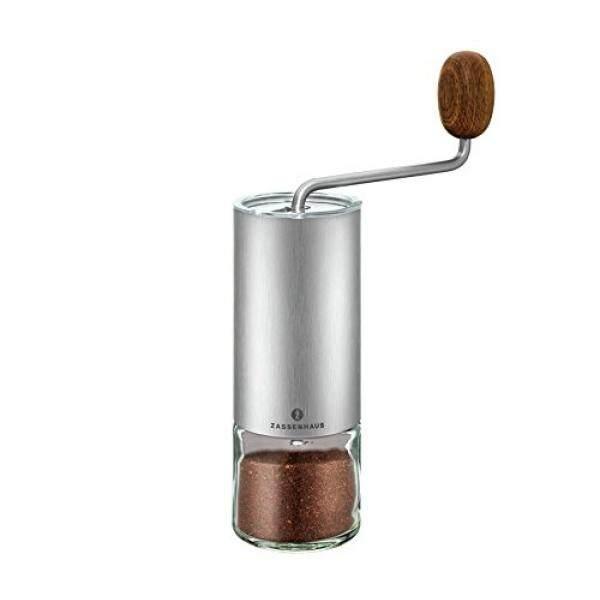 Zassenhaus 0000041095 Kaffee-/Espressomühle Quito, Edelstahl, 1,000X1,000X1,000 Cm-Internasional