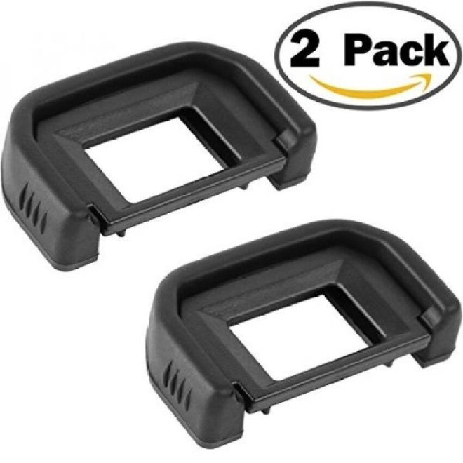 Camera Eyecup Eyepiece For Canon Ef Replacement Viewfinder Protector For Canon Eos 300D 350D 400D 450D 500D 550D 600D 1000D 1100D 700D 100D Canon Rebel Xt Xti Xs Xsi T1i T2 T2i T3 T3i T4i T5i Sl1 - intl