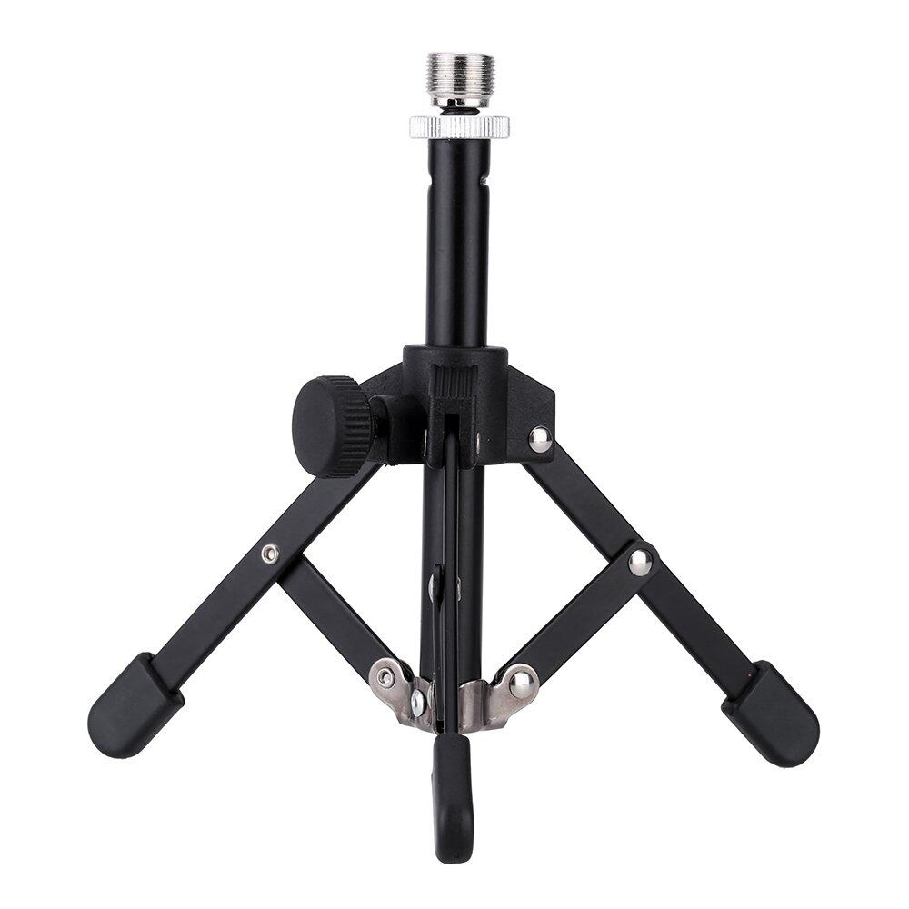 Ms 12 Mini Foldable Desktop Tabletop Tripod Microphone Mic Stand