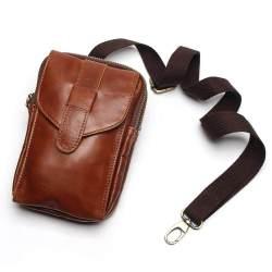 100% Asli Kulit Messenger Tas Pria Bisnis Perjalanan Crossbody Bahu Tas untuk Pria Sacoche Homme Bolsa Masculina E-store Prince