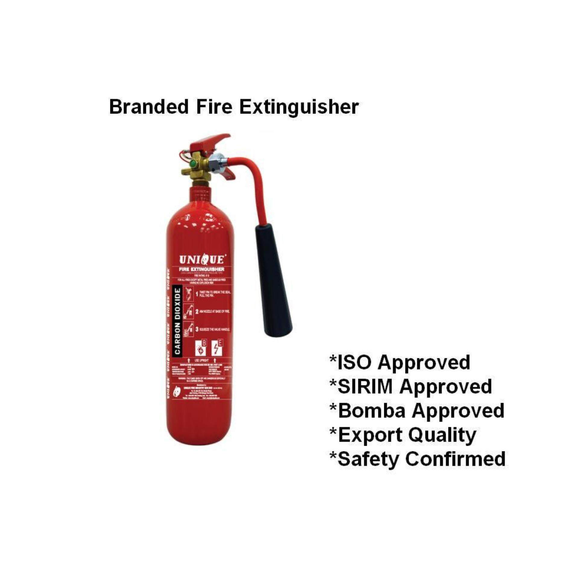 fire extinguisher for kitchen use trash can dimensions 2kg co2 branded house and