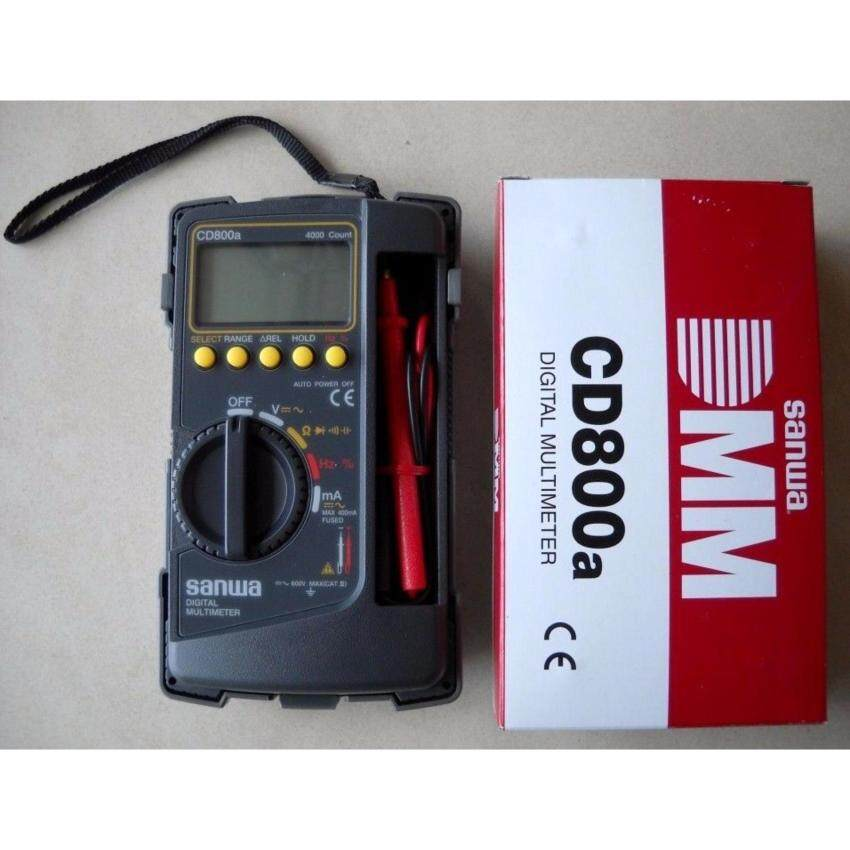 SANWA DIGITAL MULTIMETER CD800A (JAPAN) - intl