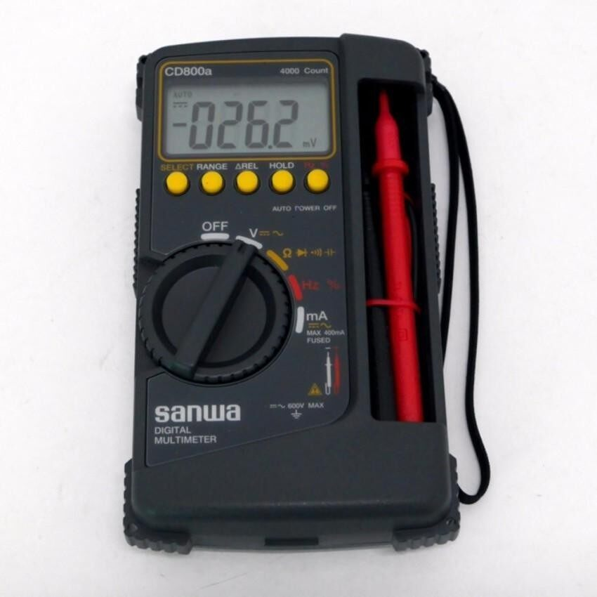 SHENG HOTT SANWA DIGITAL MULTIMETER CD800A (JAPAN) & - intl