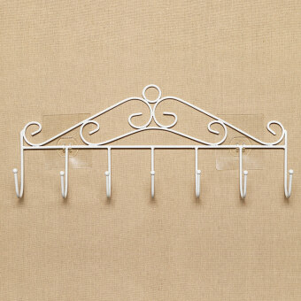 Strong Glue Door After Hook Wall Seamless Free Nail Adhesive Hookwall Hanging Clothes Rack Kitchen Bathroom