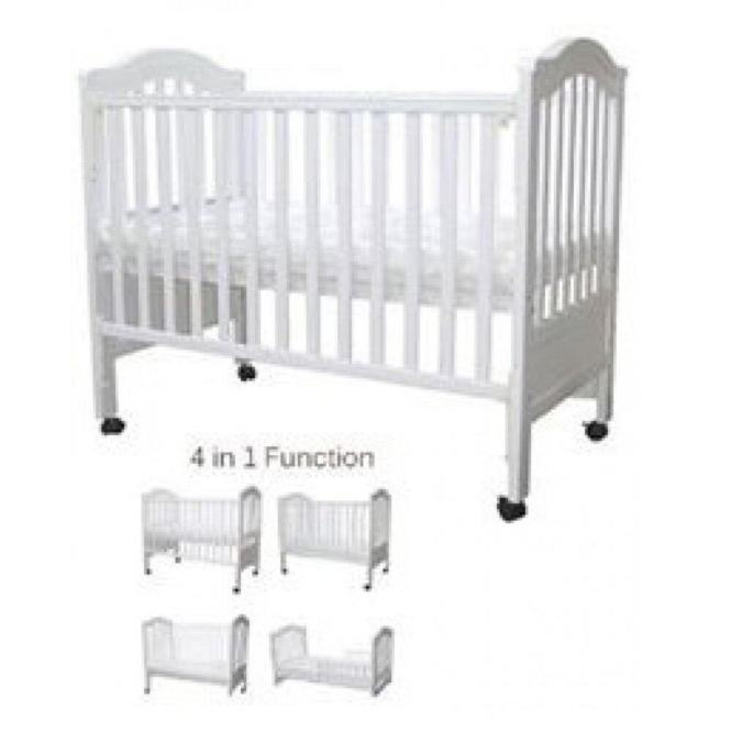 Baby Love Cod Bed London 4 In 1 Cot Size 28 X 52 Katil 100 Non Toxic Only Mattress Separately Bayi Lazada