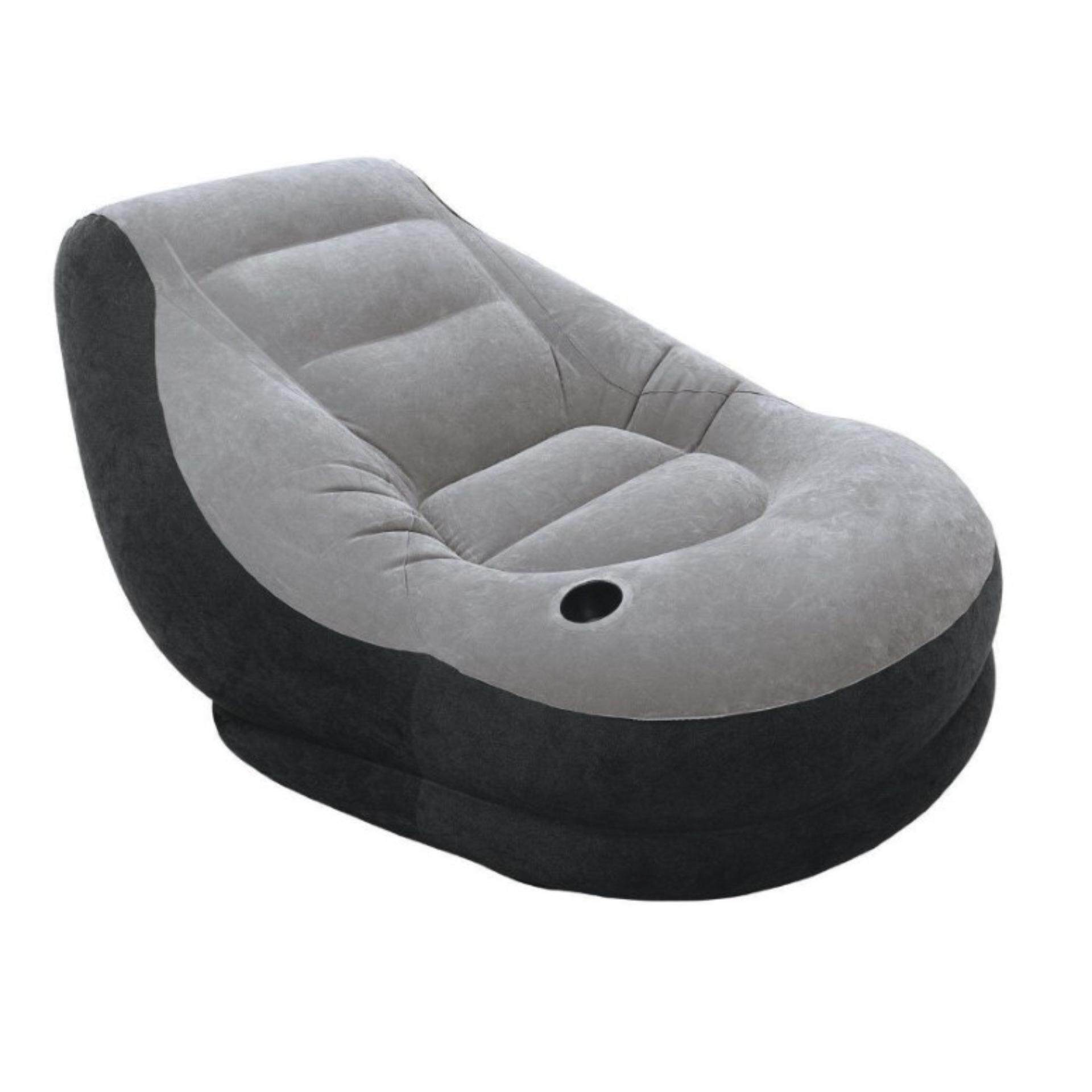 intex inflatable chairs round back chair lounge sofa dorm gaming 68564