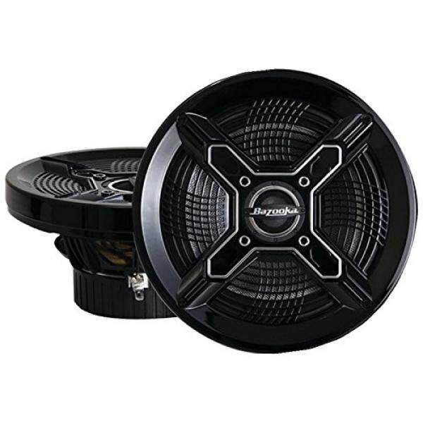 Bazooka MAC8100B 8-Inch Marine Coaxial Speaker - Set of 2 (Black) - intl