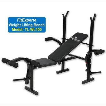 gym bench press chair pink wingback kios bansuk sports korea weight lifting barbell squat rack dumbbell fitexperte high grade 420kg durable foldable workout