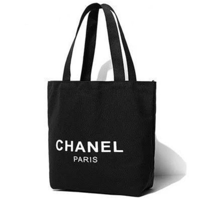2e9a7ed1b19c8d Chanel Vip Gift Thick Canvas Tote Bag Very Rare Clearance