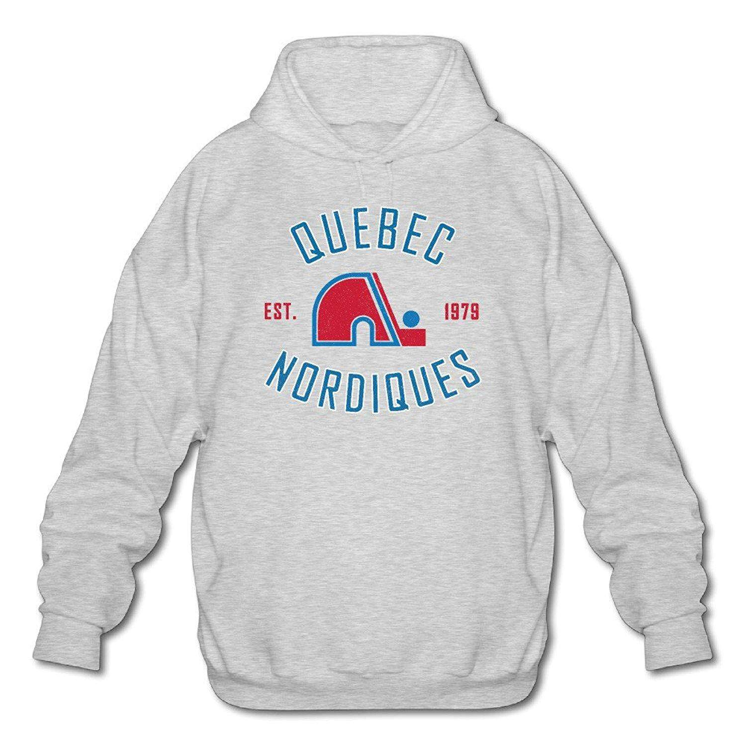 Mens Quebec Nordiques Heritage 1979 Fashion Pullover Hoodie - intl