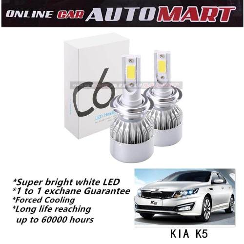 small resolution of  kia optima k5 c6 led light car headlight auto head light lamp 6500k