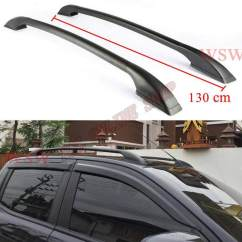 Roof Rail Grand New Avanza Veloz 1.5 Vs Mobilio Rs Fitur Kaki 2 Universal Toyota All Dan Hilux Vigo Revo Luggage Rack Bar Silver