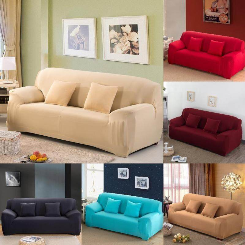 pillow covers for living room grey and teal curtains buy slipcovers furniture couch lazada sg fantastic flower new fashion cloth art turnkey antiskid spandex stretch machine washable sofa cover big