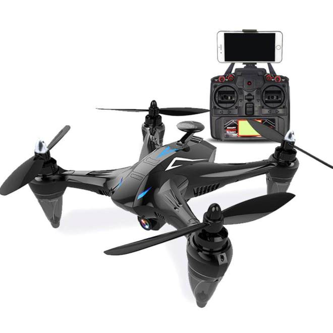 Wonderful Toy GW198 Professional 5G WIFI GPS Brushless Quadrocopter with HD Camera RC Drone Gift Toy  Blue