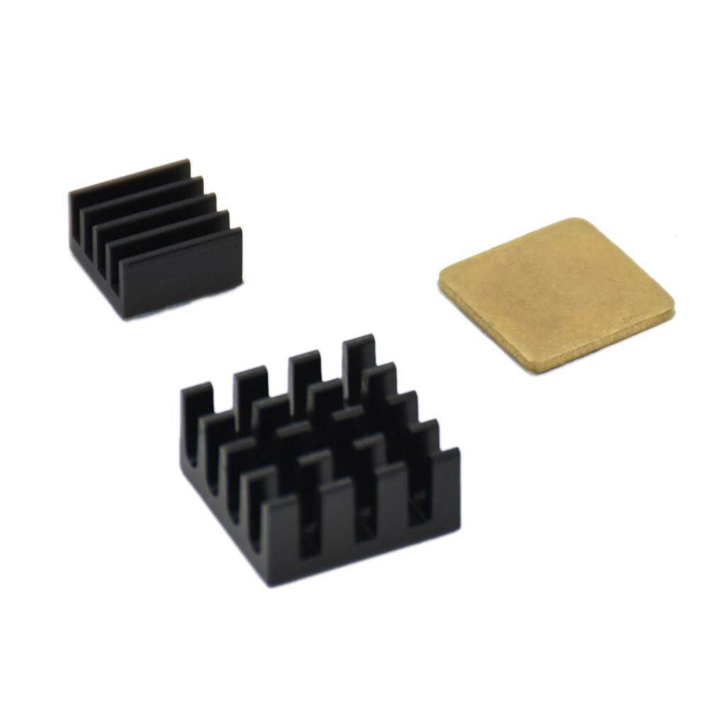 3PCs Heat Radiator Heatsink Cooler Adhesive Kit for Raspberry Pi 2 3 Models - intl
