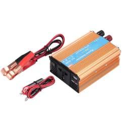 ggs car inverter power inverter premium 3000w dc 12v to ac 220v converter transformer  [ 1001 x 1001 Pixel ]