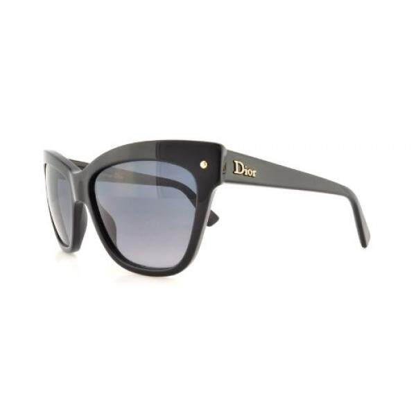 Dior 807 Black Jupon 2 Cats Eyes Sunglasses - intl