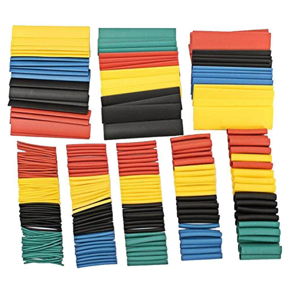 medium resolution of 328pcs 2 1 polyolefin shrinking assorted heat shrink tube wrap wire cable insulated sleeving tubing