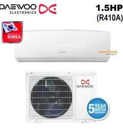 daewoo dsb f1285el e2 air conditioner 1 5hp wall aircond [ 1000 x 1000 Pixel ]