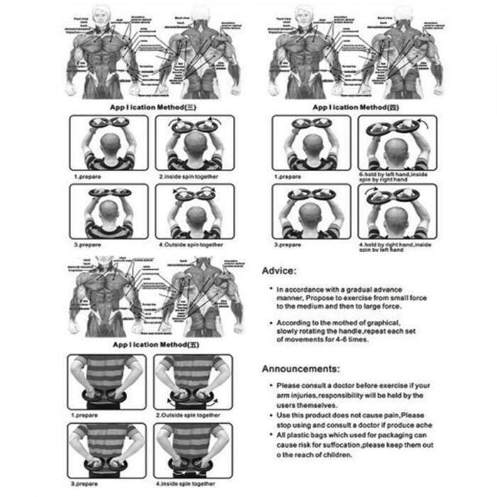 Super Arms Strengthener Grip Exerciser 20kg Strength