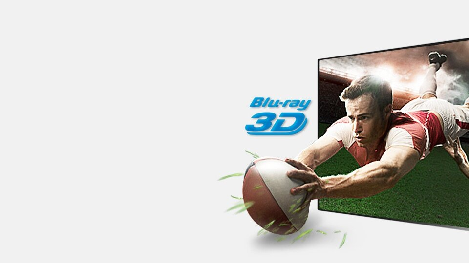 Experience the next level of Full HD 3D entertainment