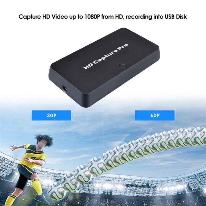 Generic Y&H Game Capture Card HD Video Capture Up To 1080P Into USB Disk,Windows System Works With OBS For Live Video Streaming,Support Mic In With HDMI/YPBPR/AV Input price in Nigeria