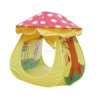 Portable Kids Boys Girls Toy Mushroom Tent Play House ...