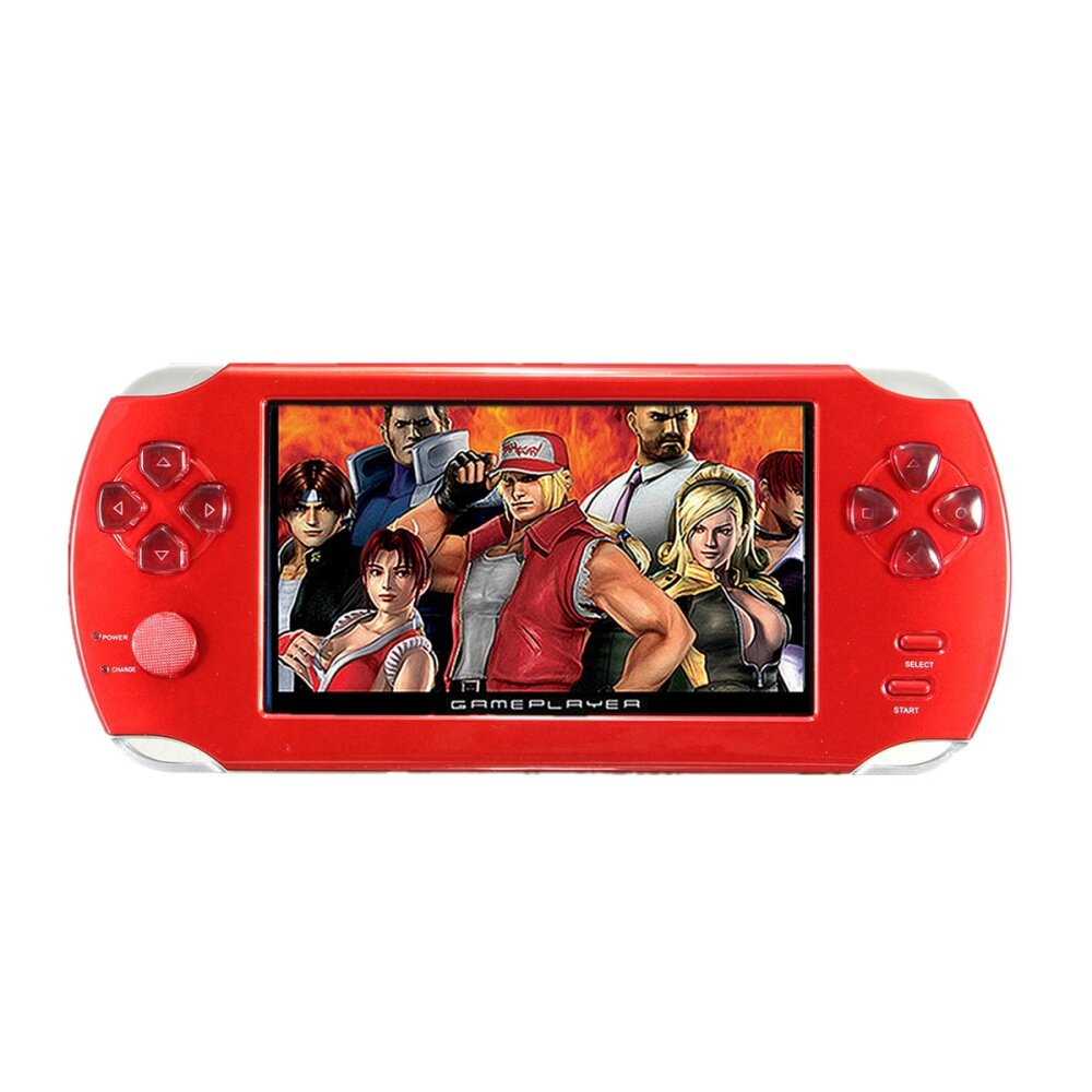 S 8367 8f42ebfb759fbf1999150b9e6fdea5e3 Universal A15 Rechargeable 5.0 8G Handheld Video Game Console MP4/MP5 Player With Camera Red