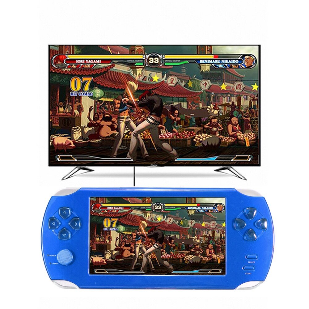 S 8367 ae2cd29282331c0325cc86c671446c1e Universal A15 Rechargeable 5.0 8G Handheld Video Game Console MP4/MP5 Player With Camera Red