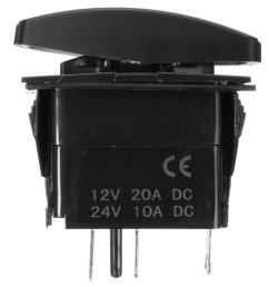 generic 12v led fog light laser rocker on off switch wiring harness 40a relay fuse red [ 1000 x 1000 Pixel ]
