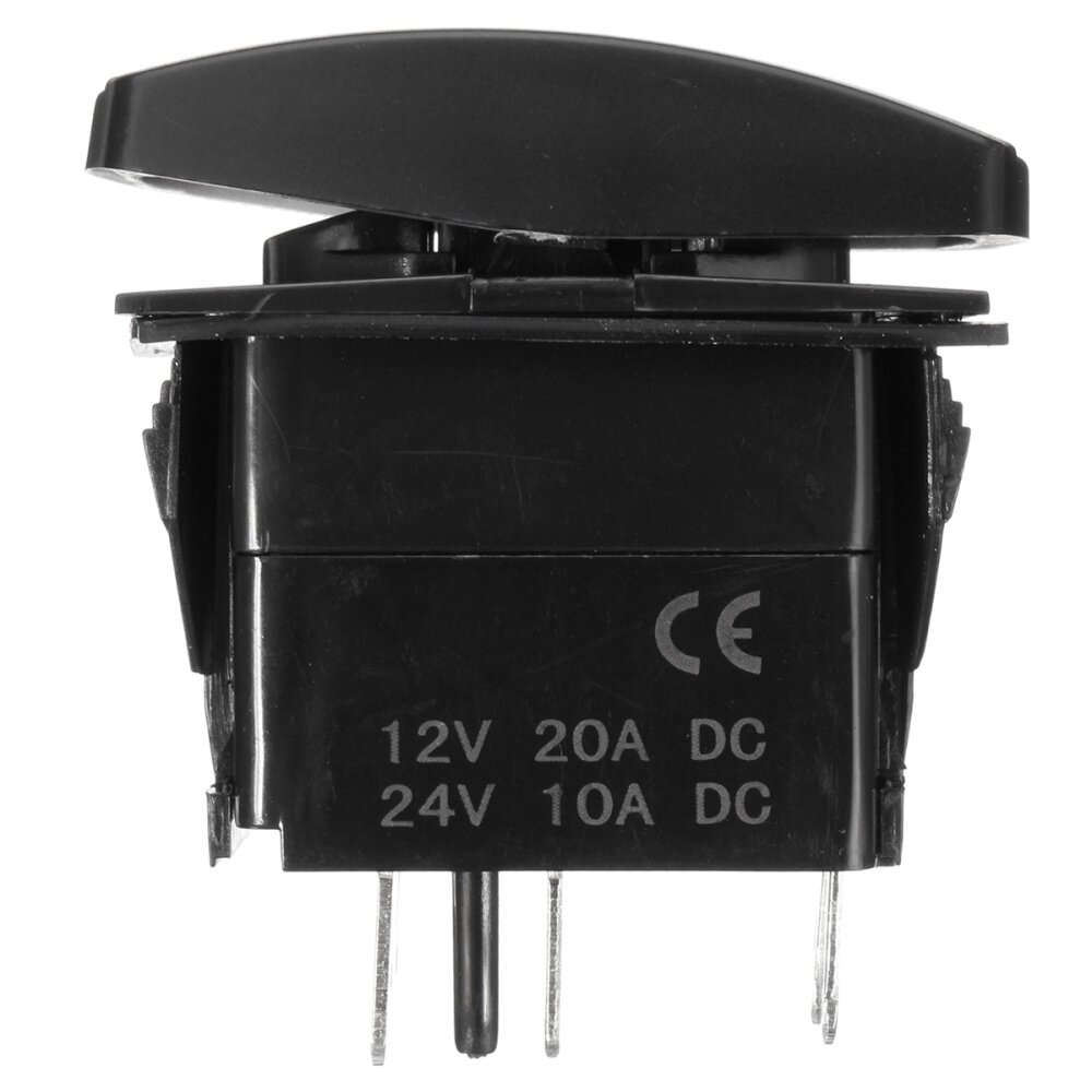 hight resolution of generic 12v led fog light laser rocker on off switch wiring harness 40a relay fuse red
