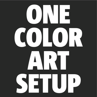 Art Setup (1 Color)