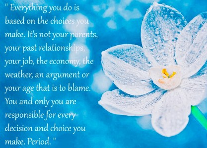 Flower Quotes About Life Flowers Responsibility Choices Quotes Decision Life Flower Desktop - Quotes About Inspiration