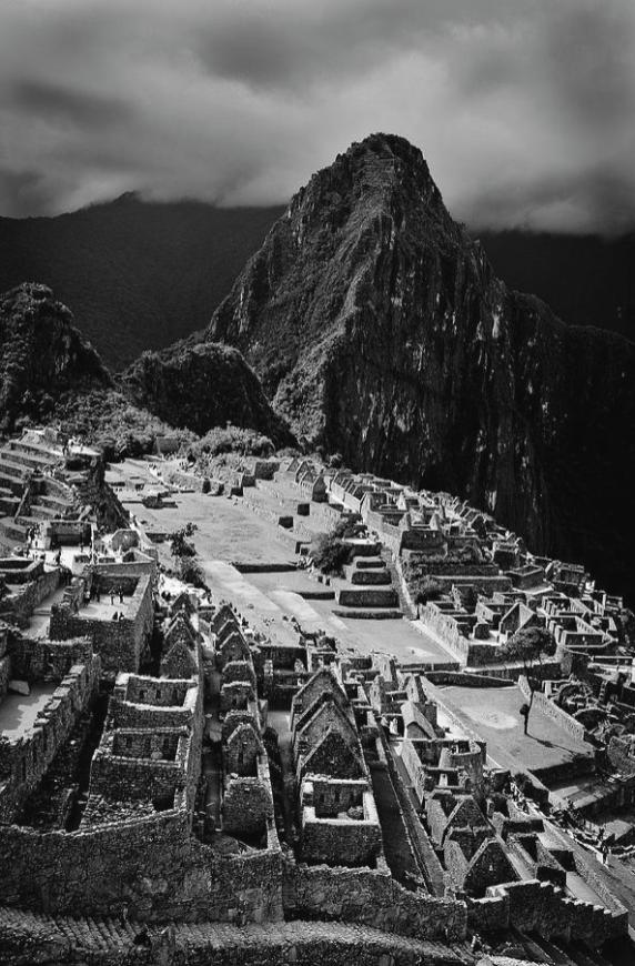 dry-stone-buildings-of-machu-picchu-in-black-and-white-paul-kerton